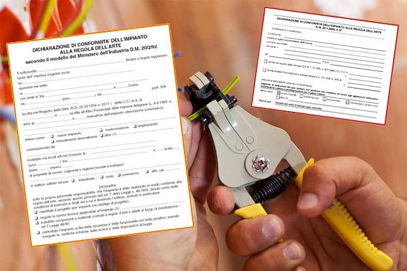 Certificato di conformità degli impianti: cos'è e a cosa serve