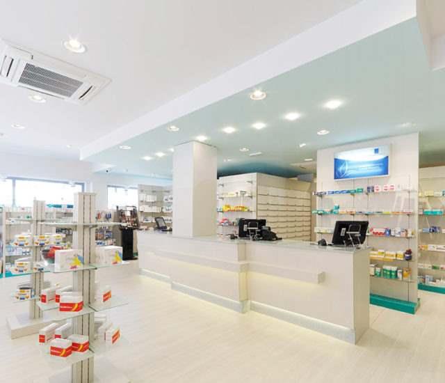 impianto climatizzazione farmacia