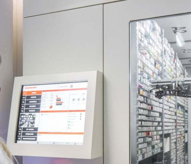 magazzino automatico farmacia